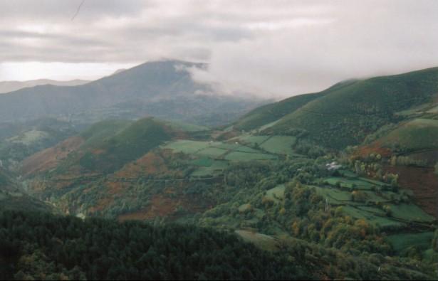 Galician hillside