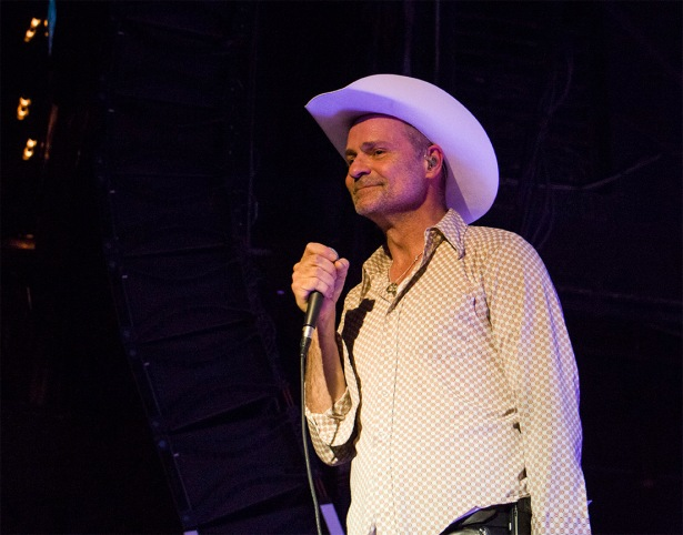 Gord Downie in Cleveland, Ohio 2015