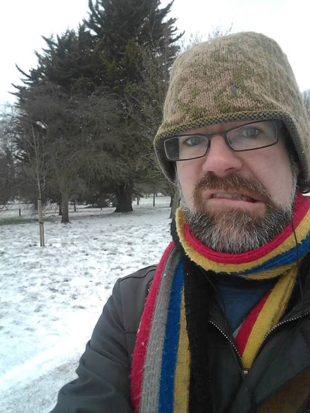 Michael Munnik doesn't think it's really very snowy in Cardiff on Thursday 1 March