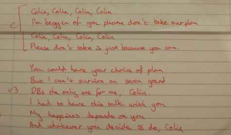 Lyrics to UCU strike version of Jolene
