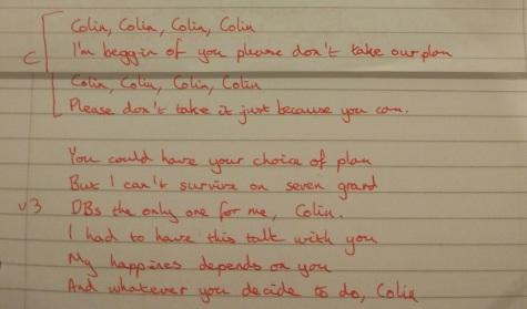 Lyrics to UCU strike version of Jolene