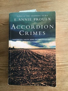 Cover of Annie Proulx's Accordian Crimes