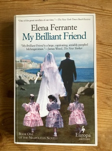 Cover image of My Brilliant Friend by Elena Ferrante