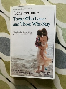 Cover image of Elena Ferrante's Those Who Leave and Those Who Stay