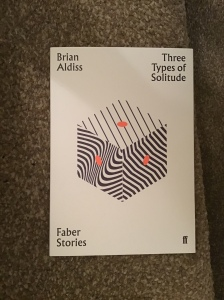 Cover image of Faber edition of Brian Aldiss's Three Types of Solitude